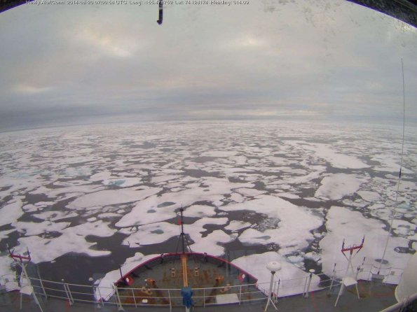 Healy Webcam (Icefloe – USCG)